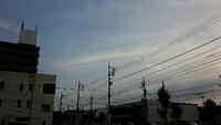 2017.7.13(木) 気になる雲~高崎市。