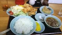 高崎市新田町交差点~中華料理 可楽。