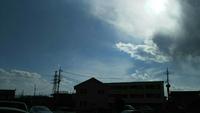 4.9(月)気になる雲~高崎市井野駅周辺。