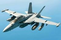 ea-18gが、空に描いた。