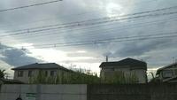 6.27(水)気になる雲~高崎市井野駅周辺。