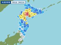 2018.9.6(木) 03:08北海道胆振地方中東部震度6強発生。