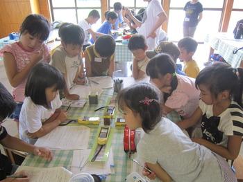 夏休み自由学校 2日目の様子