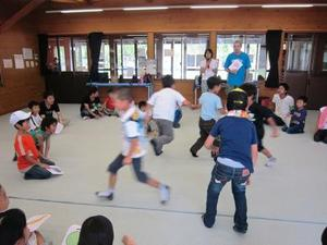 夏休み自由学校 1日目の様子