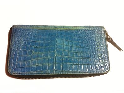 財布の施工