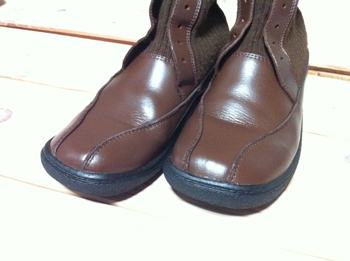 ブーツの補修