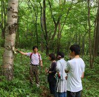 草津の森で森林セラピーそして温泉♡
