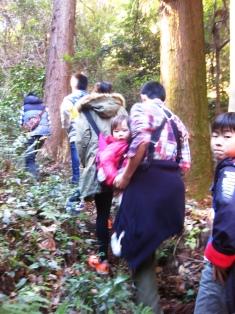 『れい散歩♪野鳥の森☆中学生』