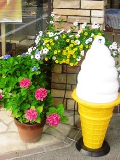 『ソフトクリームも好評です!ぐーちょき』