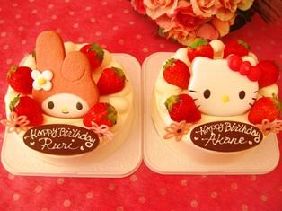 マイメロ&キティちゃんのクッキーデコ☆