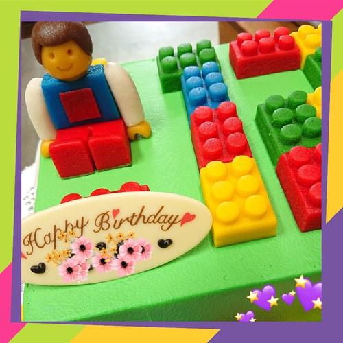 『オーダーケーキ☆レゴ』