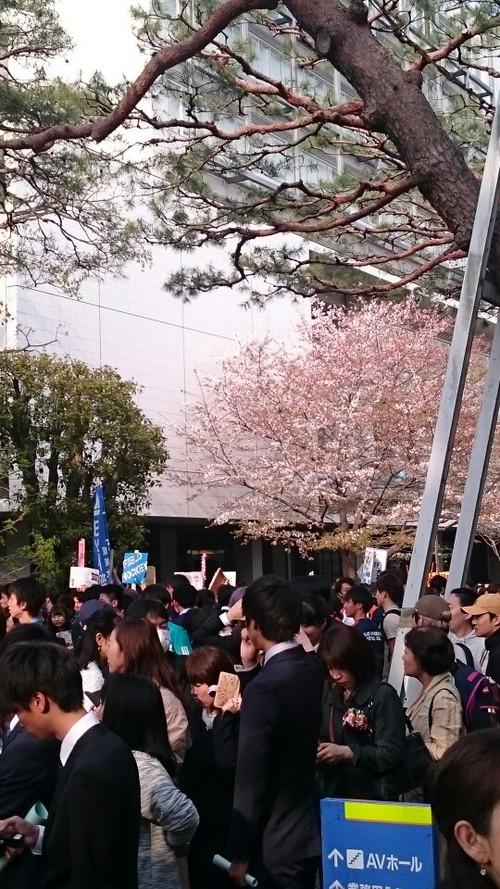 『入学式1☆長男』