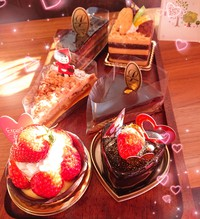 『限定ケーキ☆』