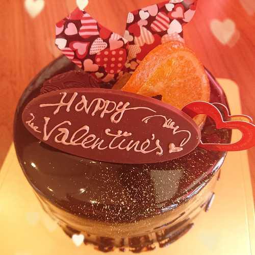 『バレンタイン限定ケーキ☆』