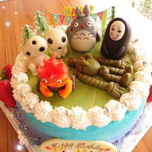 『主人とケーキ☆』