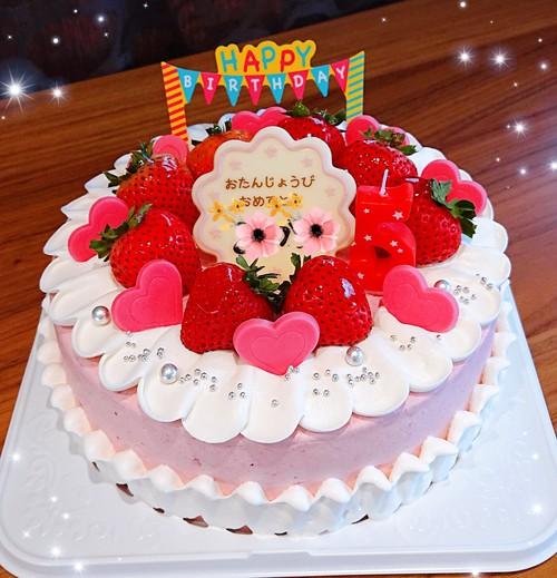 『いろんなお誕生日ケーキ』