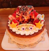 『プリントデコレーションケーキ』