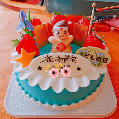 『こどもの日ケーキ』