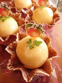 『桃太郎☆桃のケーキ』