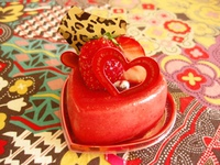 『苺のケーキがいっぱいです!』