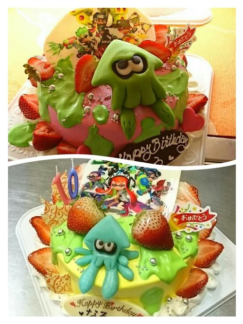 『人気お誕生日ケーキ☆末娘』