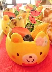 『クマのプリンアラモード☆』