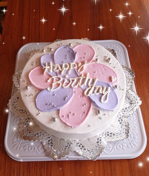 『いろいろなお誕生日ケーキ☆センイルケーキ』