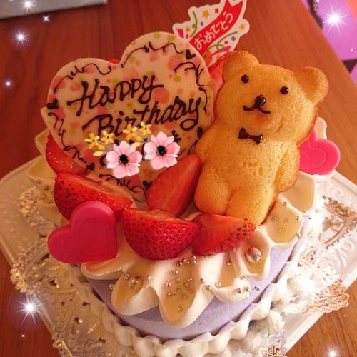 『いろいろなお誕生日ケーキ☆』