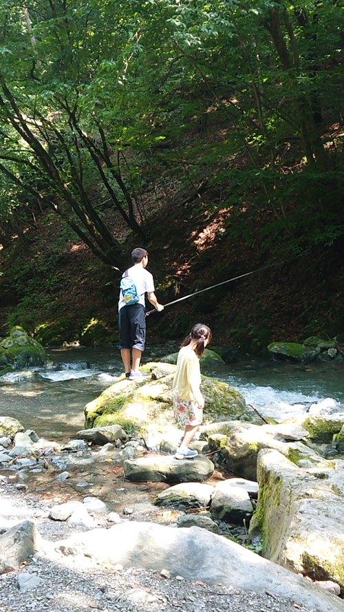 『赤久縄☆渓流釣り』
