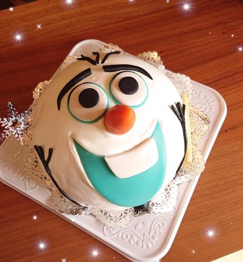 『いろいろなお誕生日ケーキ☆ドーム型』