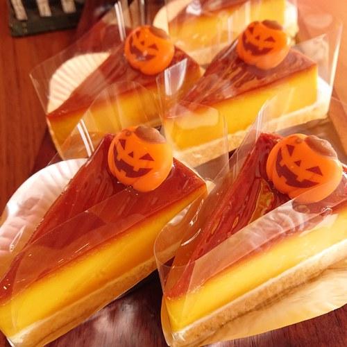 『かぼちゃのプリンケーキ』
