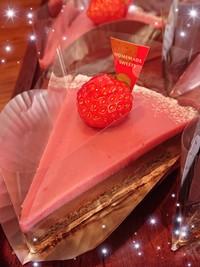 『春いちごの生チョコタルト☆末娘』