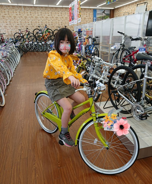 『自転車選び☆末娘』