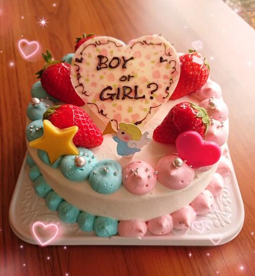 『ボーイorガールケーキ☆』