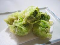 春一番・ふきのとうの天ぷら