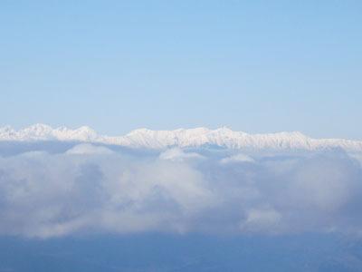 高峰山~水の塔山 1