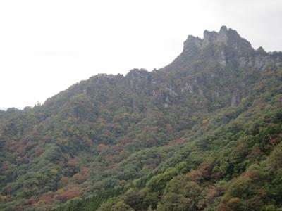 紅葉の妙義山