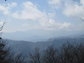霧氷の三頭山