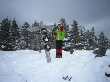 西岳(八ヶ岳)雪山ハイキング