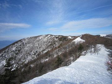 冬の高峰山~水ノ塔山