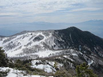 冬の高峰山~水ノ塔山 2