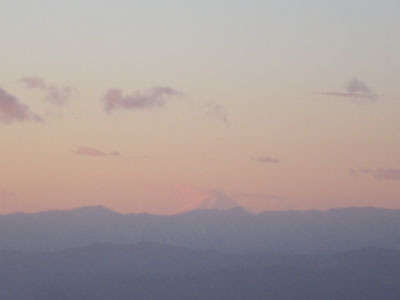 初日の出・鍋割山