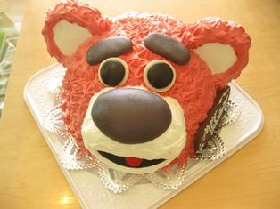 『くまの誕生日ケーキ☆』