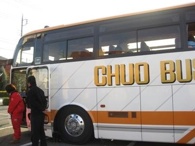 『大型バスに乗って☆次男の旅立ち』