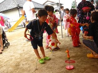 保育園の夏祭り☆
