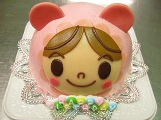 『あかちゃんマンのケーキ☆お誕生日ケーキ!』
