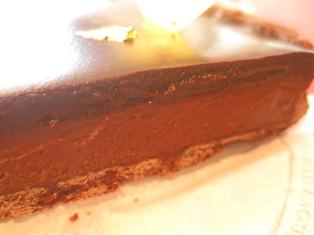 生 チョコ タルト