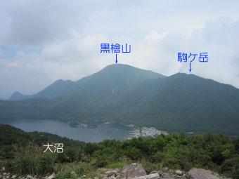 赤城山・地蔵岳の電波塔