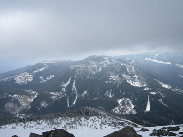 蓼科山・雪山ハイキング 2