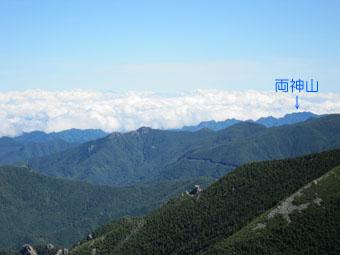 金峰山からの眺め